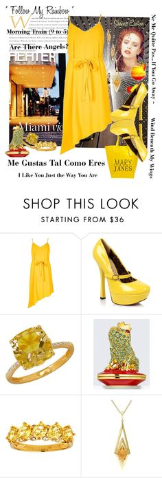 """""""20160810-1"""" by nanniehatter ❤ liked on Polyvore featuring River Island, EASTON, Lord & Taylor, Estée Lauder, Versace 19•69, country, maryjanes and sheenaeaston"""
