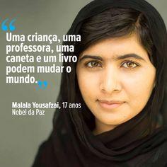 """Intelectuais Balantas Na Diáspora : Prémio Nobel da Paz é para """"todas as crianças sem ..."""