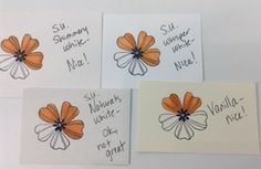 Blendabilities on different Stampin' Up Papers.  More details, more papers and a video in the post.