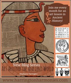 EXCELLENT - Art History - many areas Explore the cave paintings and rock art of the ancients with prehistoric art for kids. Enhances any ancient history homeschool plans. Art History Lessons, Art Lessons For Kids, Art For Kids, Ancient Egypt Art, Ancient History, Babylon Art, African Art Projects, Cultures Du Monde, 6th Grade Art