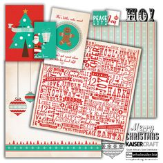 If you are looking for a blast of fresh air this Christmas, you can't go past Gingerbread. With an alternative colour set of vintage green, ...