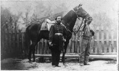 James Milton Turner, at right, served as valet for Union Col. Madison Miller of…