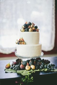 Fig Cake One Love Photography Burnetts Boards Let them Eat Fig tastic Cake!  wedding inspiration #wedding #cake wedding inspiration inspiratio...