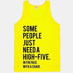 High Five   HUMAN   T-Shirts, Tanks, Sweatshirts and Hoodies