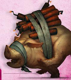 Stuffed Piglet