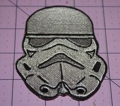 Star Wars Storm Tooper Iron On Patch by MyQuiltedCreations on Etsy, $7.50