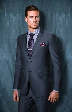 Tiglio Luxe Super Wool wool suit Made in Italy. Herren Outfit, Men Formal, Wool Suit, Men Online, Suit And Tie, Well Dressed Men, Men Looks, Online Shopping Stores, Stylish Men