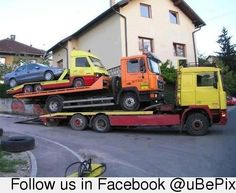 Tow Truck Pyramid!