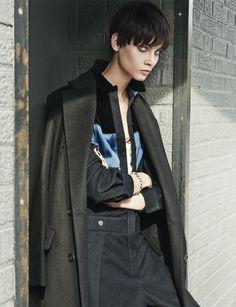 Anna Selezneva by Giampaolo Sgura for Vogue Netherlands November 2013