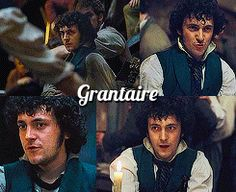 Grantaire - I find myself relating to this character more and more.