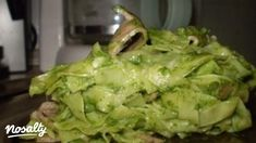 Spenótos tészta | Nosalty Fusilli, Lettuce, Cabbage, Vegetables, Food, Essen, Cabbages, Vegetable Recipes, Meals