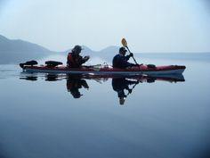 Shikotsuko fun touring canoe