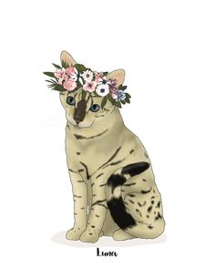 Painted Flowers, Pet Portraits, Connect, Group, Boutique, Pets, Board, Handmade Gifts, Vintage