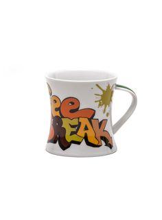 A Loja do Gato Preto | Caneca Coffee Break Verde #alojadogatopreto