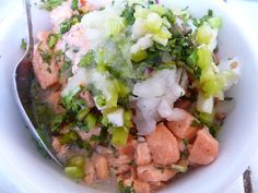 Ceviche from Chiloe Island - Chile
