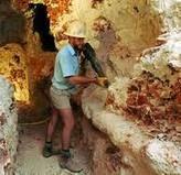 Opal mining in Australia