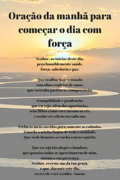 Oração da manhã para começar o dia com força #oração #oraçãoja #manhã