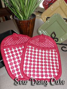Hot Pad pattern and tutorial.  Judy~