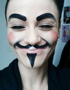 V for Vendetta makeup