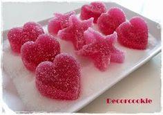 Galletas decoradas DecorCookie: Especial Comuniones I: ideas para mesas dulces, piruleta de nubes con chocolate y gominolas caseras