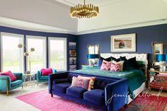 Master Bedroom Closet, Dream Bedroom, Bedroom Wall, Bedroom Ideas, Bedroom Decor, Blue Bedroom, Interior Decorating, Interior Design, Bedroom Paint Colors