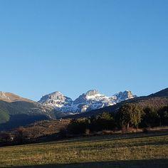 Con este día  tan luminoso el Pirineo nos felicita la Navidad #diariodeuninstagramer