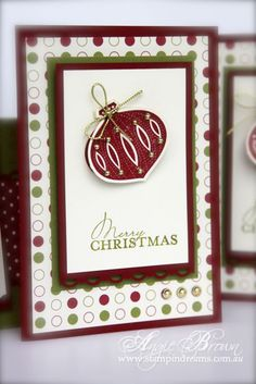 stampin up christmas card images | Stampin' Dreams: Stampin' Up! Contempo Christmas Cards