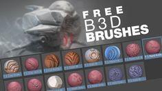 Free Blender Brushes