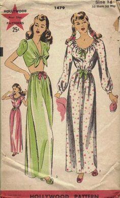 Hollywood 1479 | via Vintage Pattern Wiki.