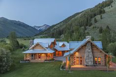 """500-acre property has log cabins, mountain views """"A land where there is time enough and room enough"""" Navajo saying"""