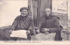 Svss - Vieux couple de matelots lisant le Littoral