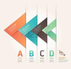 ワークフローのレイアウト、図、番号のオプション、web デザイン、インフォ グラフィックの近代的な矢印折り紙スタイル ステップ アップ オプション バナー イラストを使用ことができます。 photo Shape Design, Ux Design, Branding Design, Instructional Design, Ppt Template Design, Diagram Design, Origami Logo, Origami Design, Banner Design