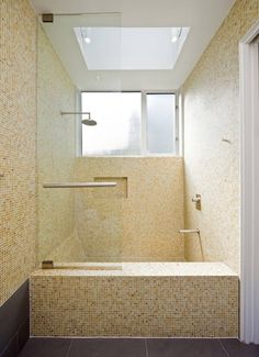Love the combo shower/Japanese-style soaking tub!  And very generously sized!!