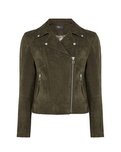 There's a chance to win this khaki suede biker jacket from Twiggy's M&S collection, over on thatsnotmyage.com