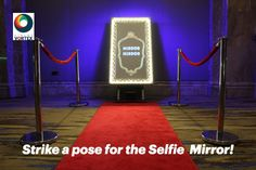 Photo booth hire from Xtreme Vortex including an unusual interactive photo booth which is a Magic Selfie Mirror which is great entertainment by talking to you. Office Christmas Party, Christmas Parties, Mirror Photo Booth, Photo Layouts, Strike A Pose, Emoji, Party Ideas, Branding, Neon Signs