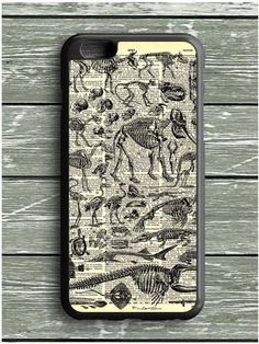 Art French Dinosaurs Dictionary iPhone 6S Plus Case