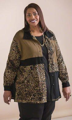 Bryce Shirt Jacket #plussize #womensfashion #winterfashion