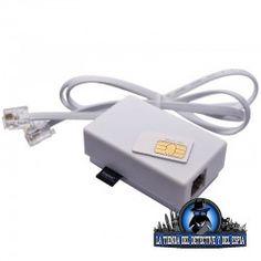 Grabador telefónico con autonomía ilimitada. Registra hasta 32GB de conversaciones del teléfono en el que lo coloques.