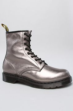 Dr. Martens Shoe 1460 8-Eye Boot in Pewter: Miss KL $120