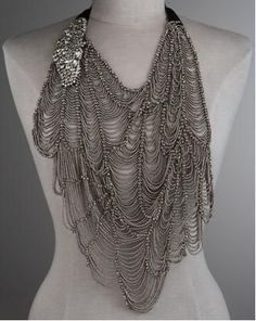 Vera Wang Butterfly Bib Necklace