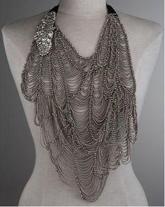 Vera Wang Butterfly Bib Necklace