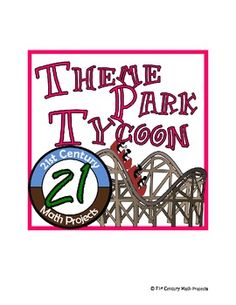 Theme Park Tycoon -- Math Project (variables/expressions and order of operations)