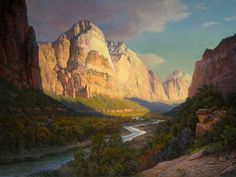 John Cogan--Zion Canyon