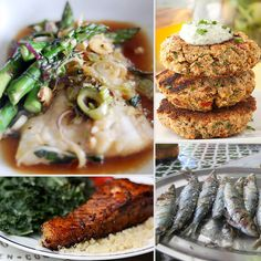 Just swap the soy for Braggs or coconut aminos!!  Reel Delicious: 15 Healthy Fish Recipes for Lent