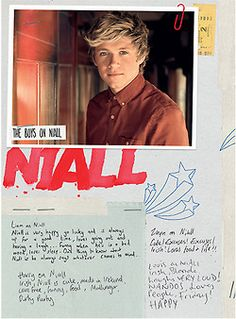 Emma on Nial:  Nial is gorgeous and adorable beyond belief and he doesn't know yet but we r someday gonna get married.