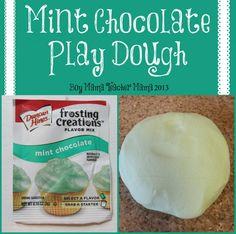 Boy Mama Teacher Mama | Mint Chocolate Play Dough