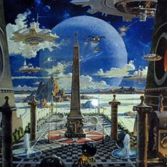 Apotheosis of Technology - Robert McCall