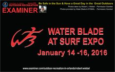 New motor powered water blades and STABAL SUP at surf expo