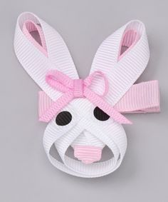 sweet treat bows - bunny
