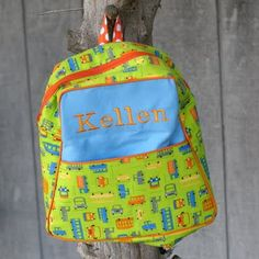 B is for Boy!: Toddler Backpack